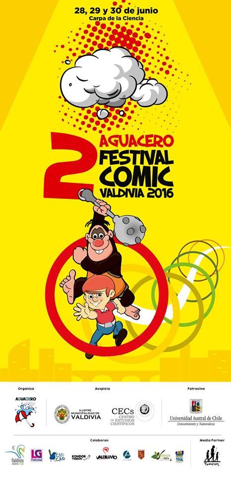 2° Festival de Comics Aguacero