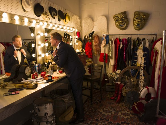 Past Tony Award-winner and 'The Late Late Show' host James Corden will host THE 70TH ANNUAL TONY AWARDS®, airing live on Sunday, June 12 (8:00-11:00 PM, ET/delayed PT) on the CBS Television Network. Photo: Jason Bell/CBS ©2016 CBS Broadcasting Inc. All Rights Reserved.