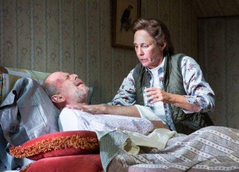 Laurie Metcalf y Bruce Willis 3