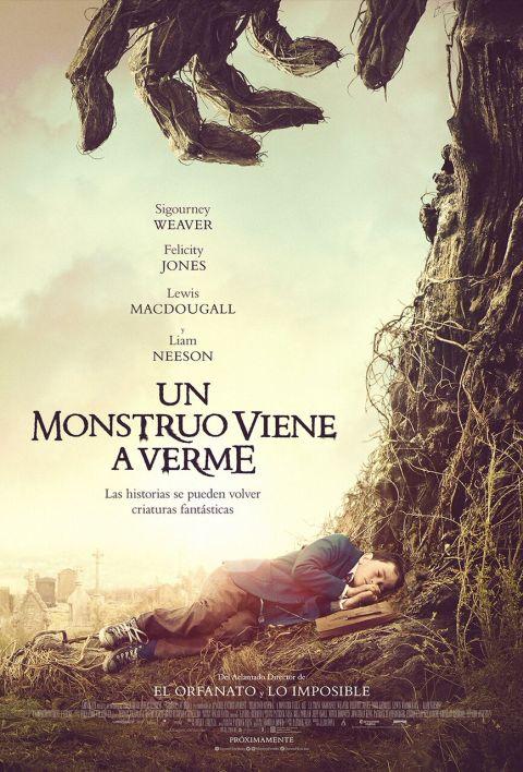 Poster de Un Monstruo Viene a Verme
