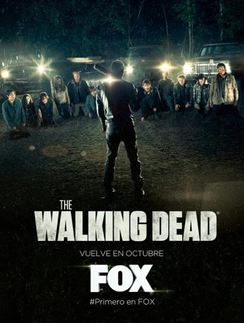 Afiche de la 7ma temporada de The Walking Dead