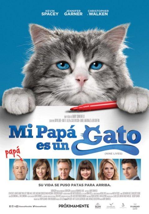 Afiche de Mi Papa es un Gato