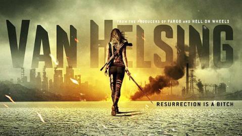 Afiche de Van Helsing