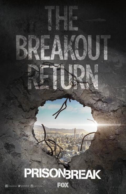 Afiche Prison Break