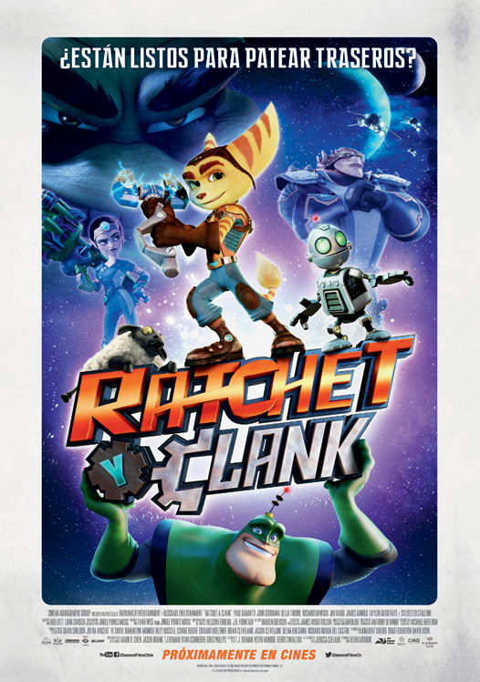 Afiche Ratchet y Clank