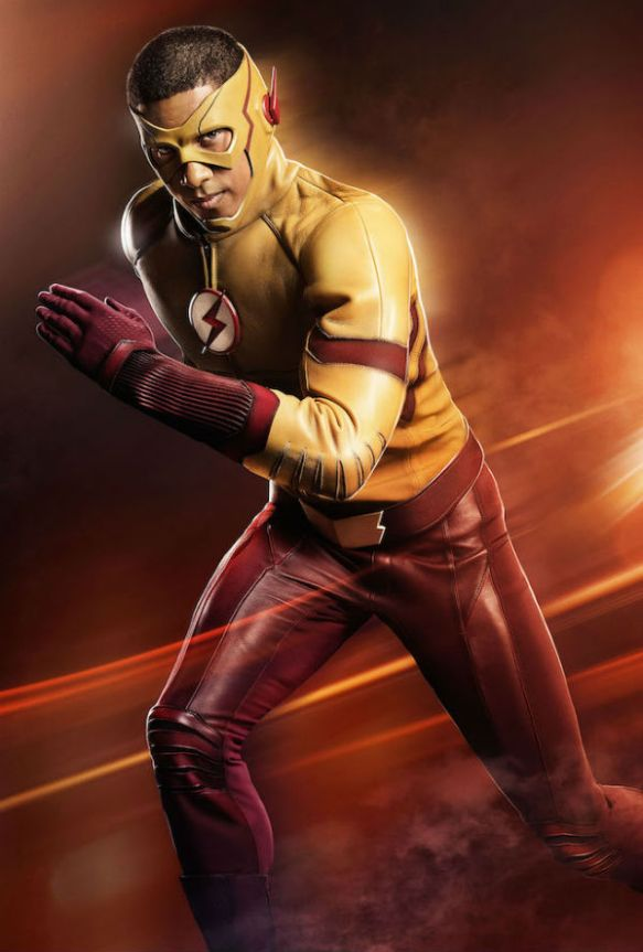 Así será Wally West en la serie The Flash 01
