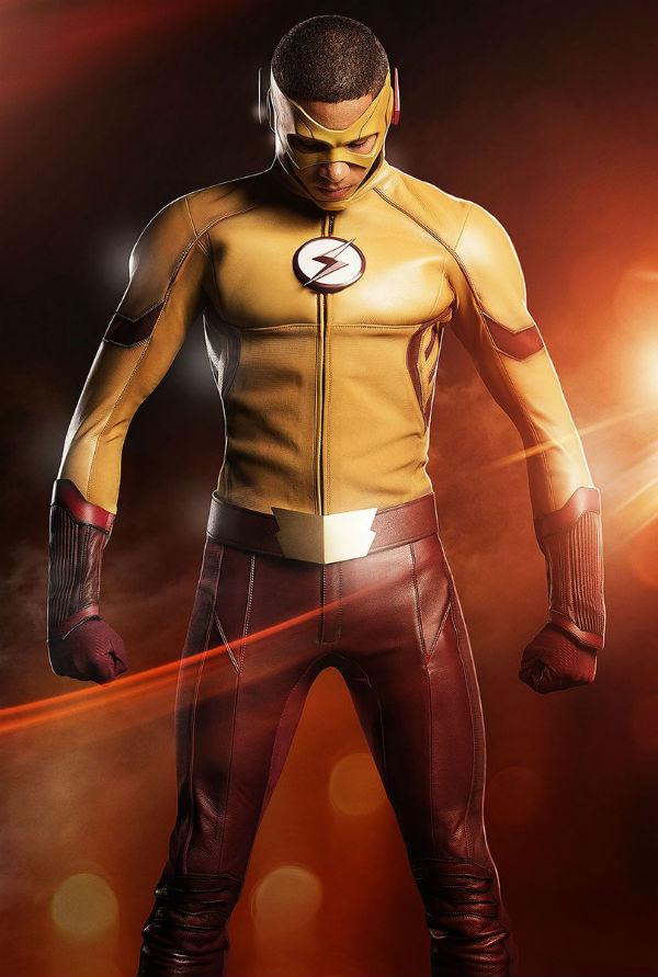 Así será Wally West en la serie The Flash 02