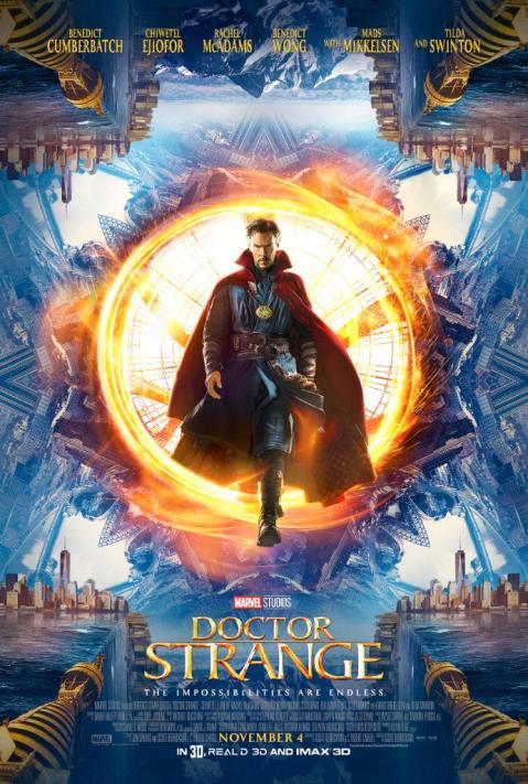 Doctor Strange afiche 01