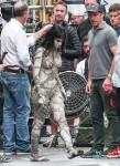 Sofia Boutella Mummy filming