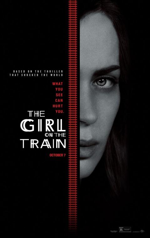 Primer afiche oficial de La Chica del Tren