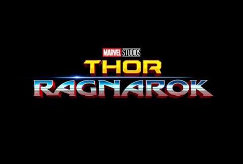 Primer logo de Thor Ragnarok