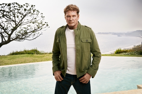 SHARKNADO: THE 4TH AWAKENS -- Season:2016 -- Pictured: David Hasselhoff as Gil Shepard -- (Photo by: Justin Stephens/Syfy)