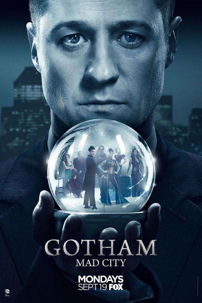 Afiche 3ra temporada de Gotham