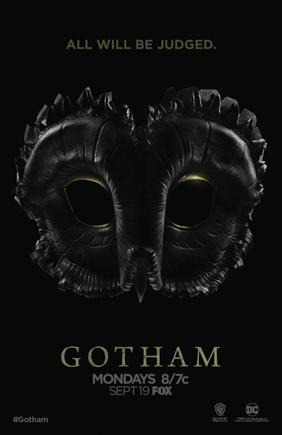 Afiche Gotham