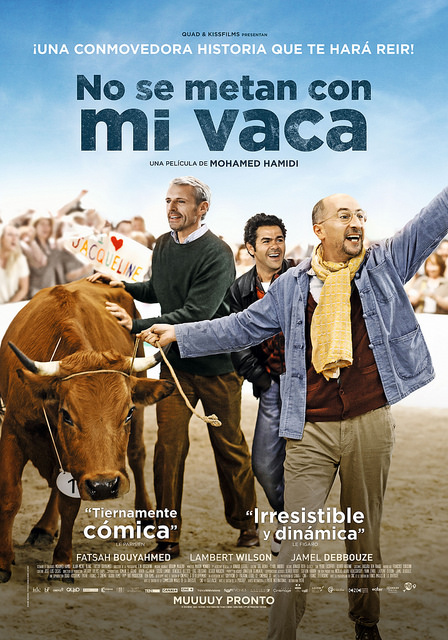 Afiche No se metan con mi vaca