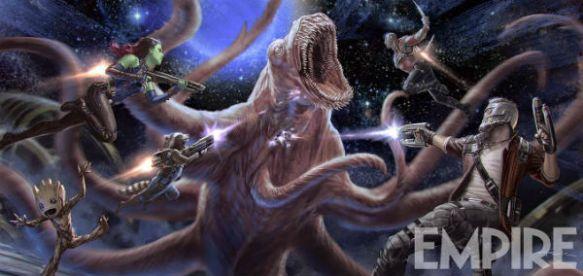 Concept Art de Guardianes de la Galaxia Vol. 2