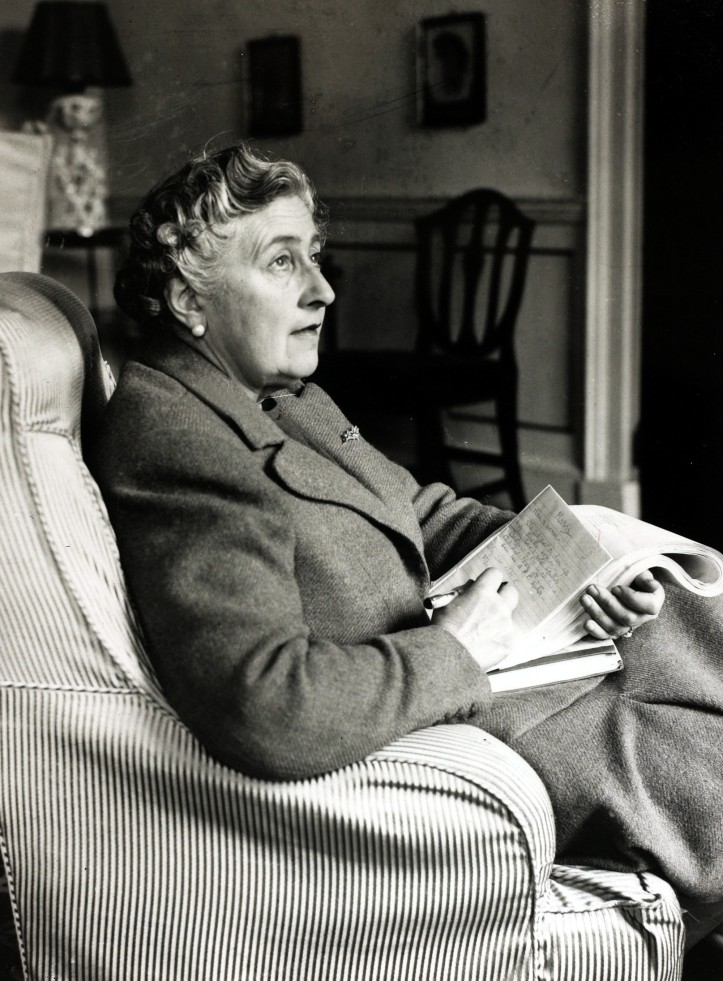 """Literature, Personalities, pic: January 1946, English crime writer Agatha Christie at her home Greenway House, Devon, Agatha Christie,(1890-1976), the world's best known mystery writer, famous for her Hercule Poirot and Miss Marple stories, and for her plays including """"The Mousetrap"""" (Photo by Popperfoto/Getty Images)"""