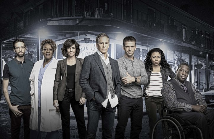 "Season 2 cast of the CBS drama NCIS: NEW ORLEANS, Tuesdays (9:00-10:00 PM, ET/PT) on the CBS Television Network. Pictured L-R: Rob Kerkovich as Sebastian Lund, CCH Pounder as Dr. Loretta Wade, Zoe McLellan as Special Agent Meredith ""Merri"" Brody, Scott Bakula as Special Agent Dwayne Pride, Lucas Black as Special Agent Christopher LaSalle, Shalita Grant as Sonja Percy, and Daryl Chill Mitchell as Investigative Computer Specialist Patton Plame Photo: Monty Brinton, Cliff Lipson, and Skip Bolen/CBS ©2016 CBS Broadcasting, Inc. All Rights Reserved"