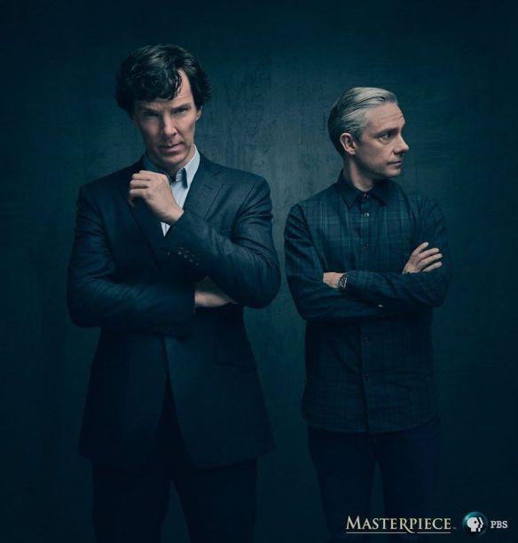 1ra imagen promocional de la 4ta temporada de Sherlock
