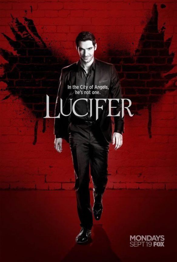 Afiche promocional de la nueva temporada de Lucifer
