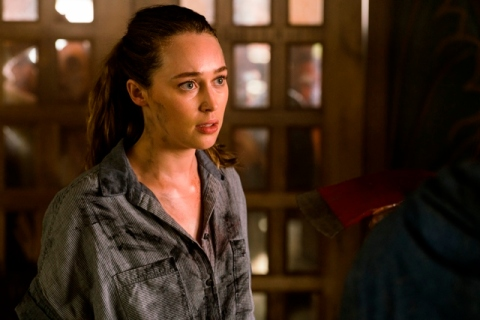 Alycia Debnam-Carey as Alicia Clark - Fear The Walking Dead _ Season 2, Episode 10 - Photo Credit: Richard Foreman Jr/AMC