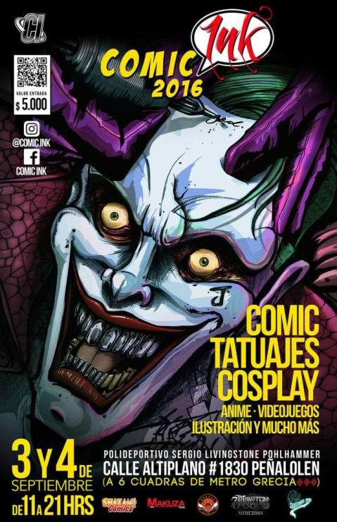 Comic Ink 2016