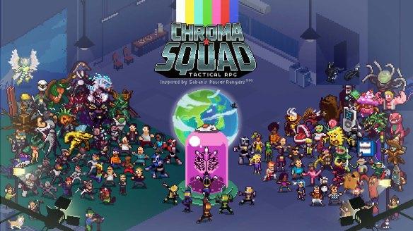 Great Battle Chroma Squad