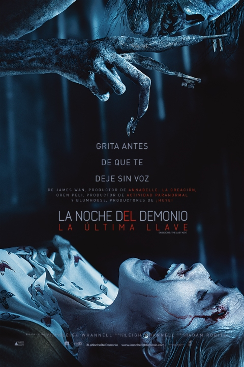 El 11 de enero se estrena La Noche del Demonio: La Última Llave