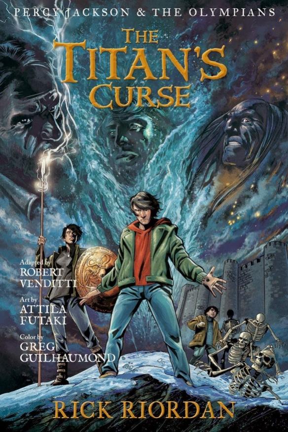 Reseña Libro Novela Gráfica De La Maldición Del Titan Starwlog